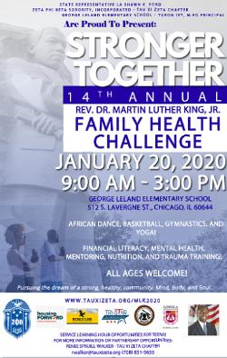 Rev. Dr. Martin Luther King, Jr. Family Health Challenge